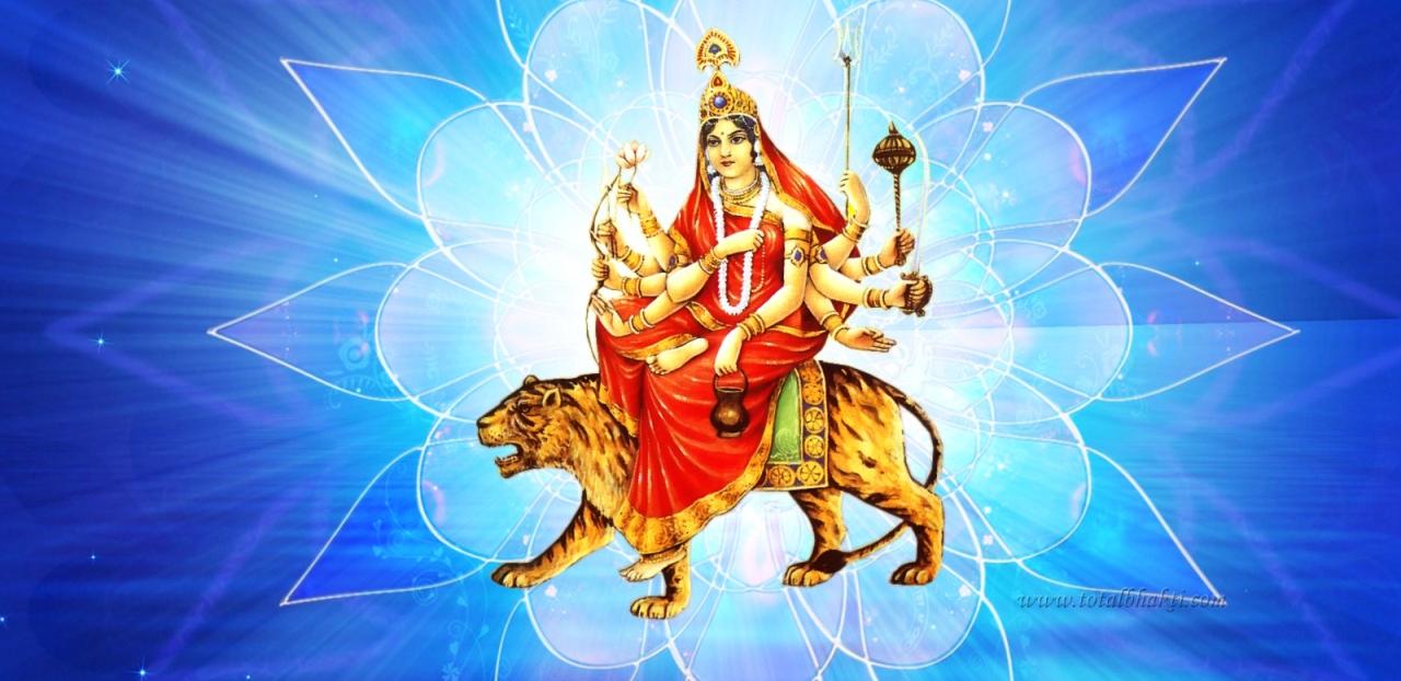 आज नवरात्रीको चौथो दिन: कुष्माण्डादेवीको पूजाआराधना गरी मनाइँदै