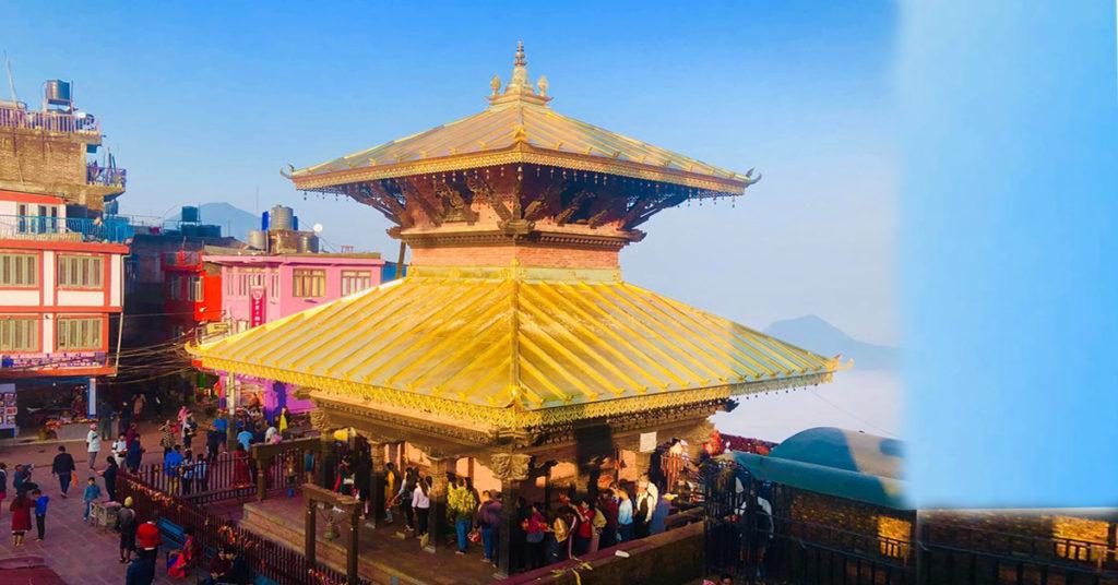कोरोना कहर : मनकामना मन्दिर बन्द