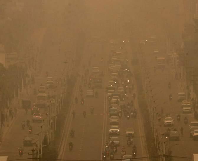 काठमाडौंमा फेरि वायु प्रदूषण बढ्यो