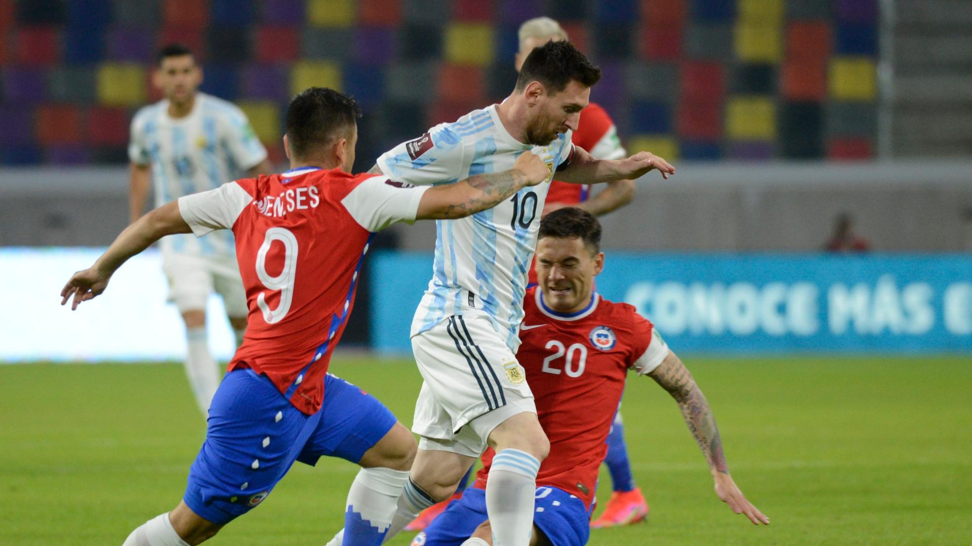 अर्जेन्टिना र चिलीको खेल बराबरीमा सकियो